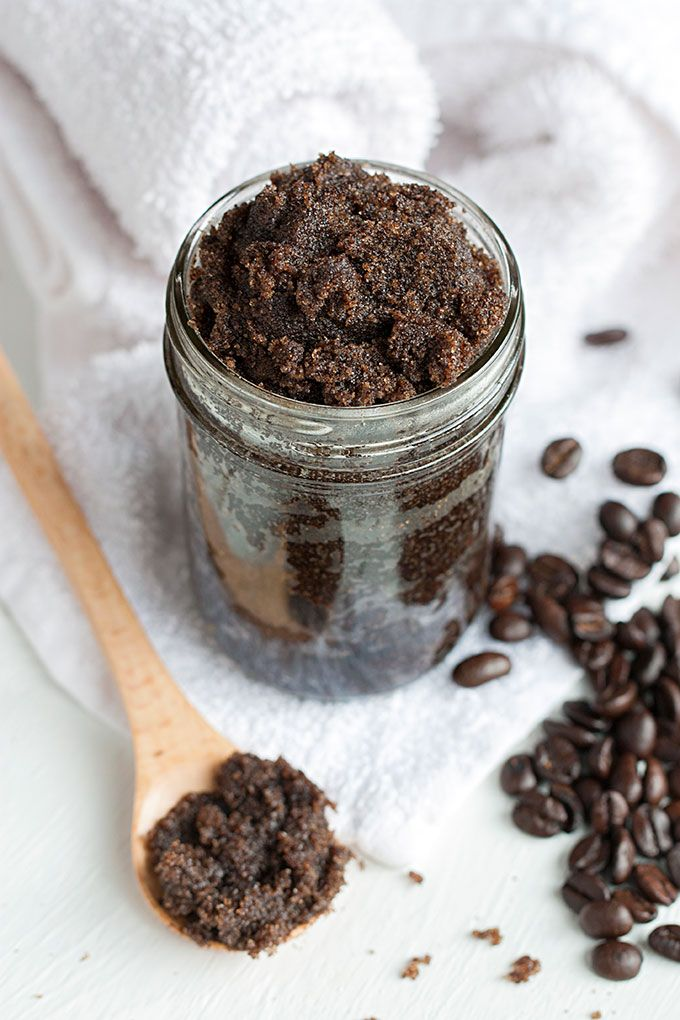 Le gommage au café, une pure merveille