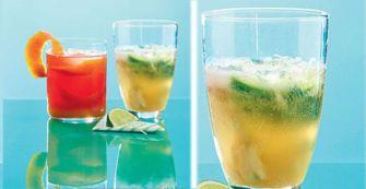 Le cocktail pétillant litchi goyave