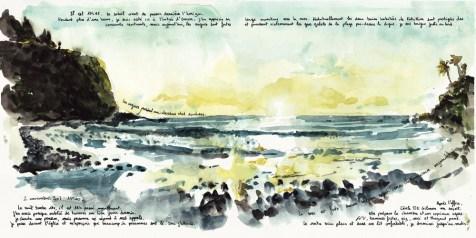 Coucher de soleil sur la baie 2-11