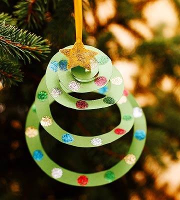 DIY Décorations de Noël en papier 01