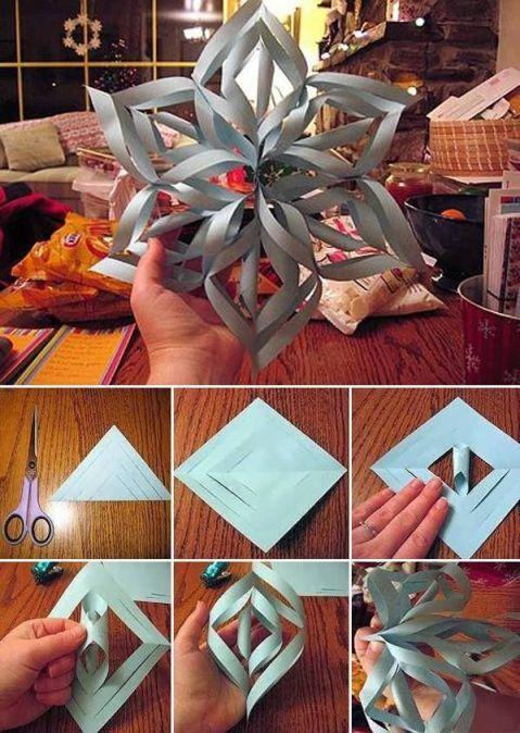 DIY Décorations de Noël en papier 15