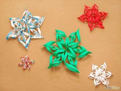 DIY Décorations de Noël en papier 16