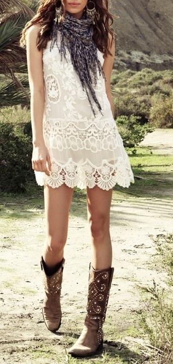La robe Blanche (7)