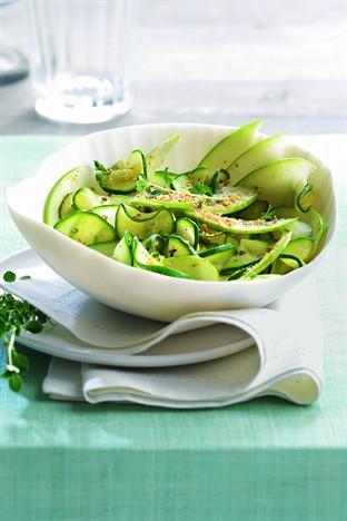 salade de courgettes pommes et coco r p moving tahiti. Black Bedroom Furniture Sets. Home Design Ideas