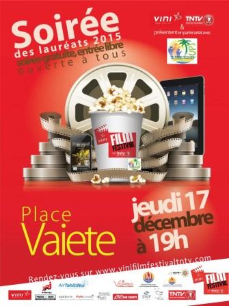 Soirée des lauréats du Vini film festival on Tntv