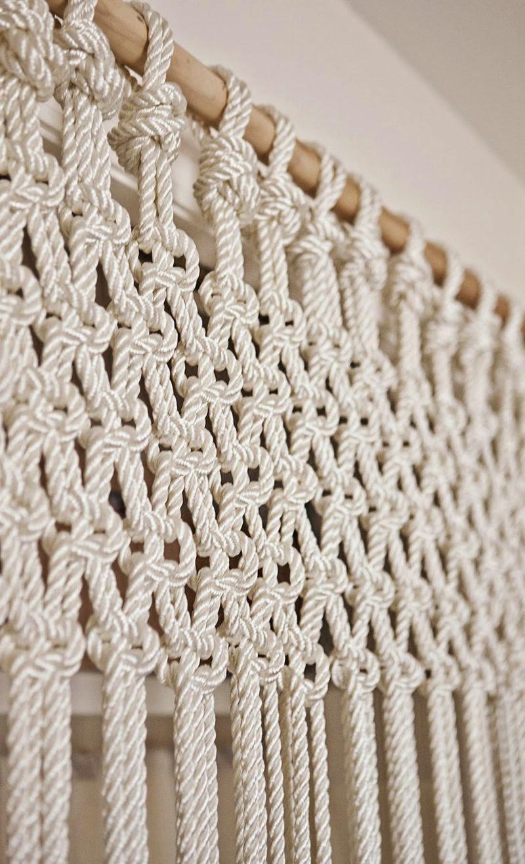 diy : un rideau en macramé à faire soi-même - moving tahiti