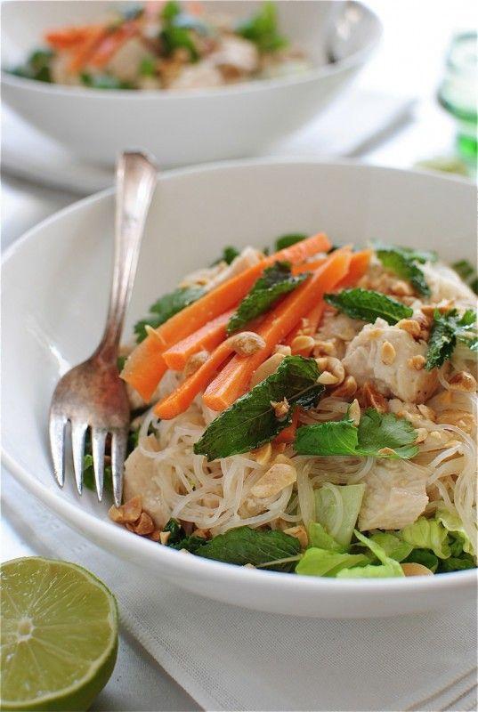 Salade de poulet thailandaise