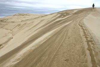 Les dunes de Te Paki en Nouvelle-Zélande