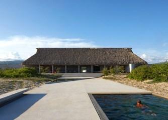 La casa Wabi, une résidence d'artistes au Mexique