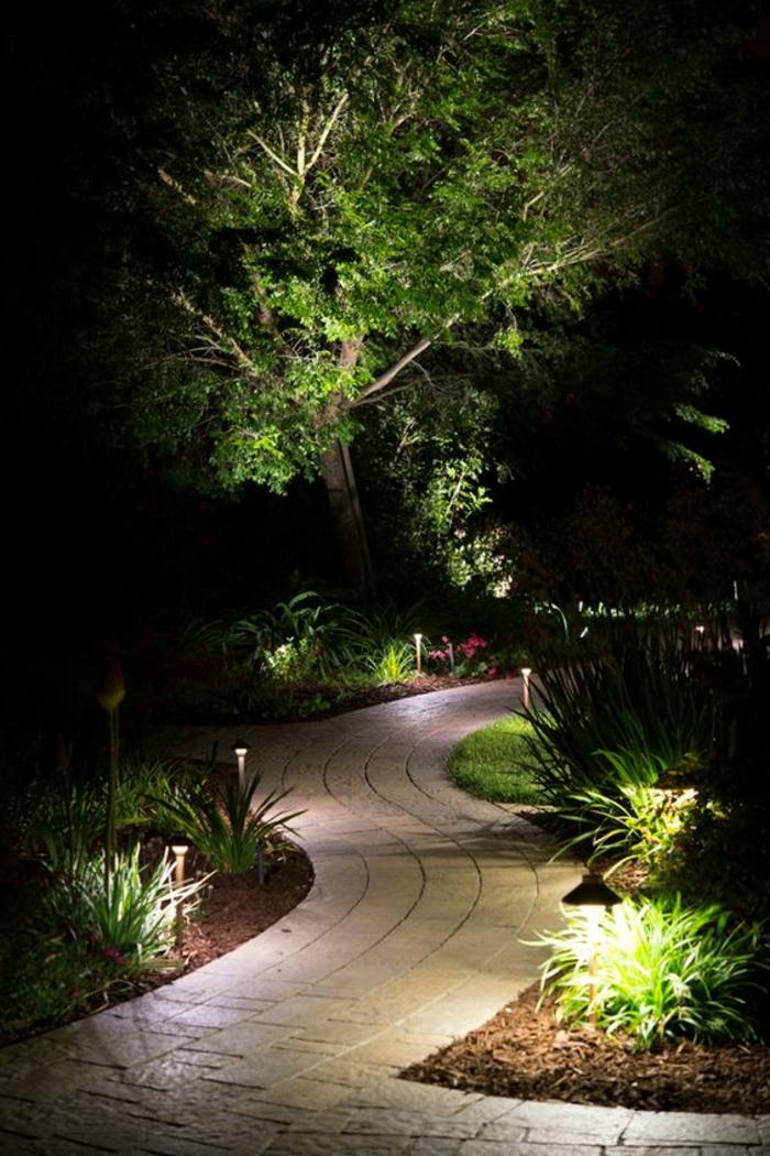 1 comment faire une all e de jardin eclairage exterieur. Black Bedroom Furniture Sets. Home Design Ideas