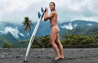 Surf : La n°1 mondiale Courtney Conlogue a posé nue pour ESPN