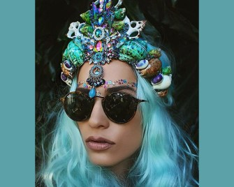 Les couronnes de coquillages signées Chelsea Shiels : original et sublime !