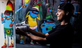 ONO'U 2016 : Le street art tribal de Cranio