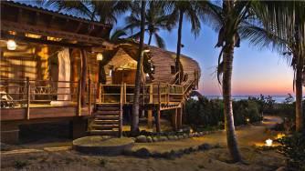 Une superbe maison en bambou à Juluchaca