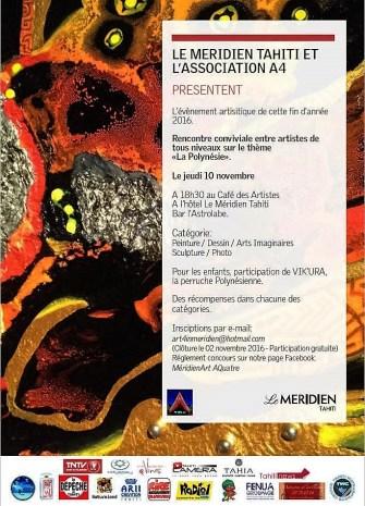 Art4 in Méridien : le rendez vous des artistes du Fenua