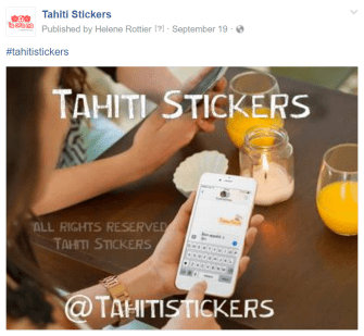 Tahiti Stickers, les autocollants du Fenua version 3.0