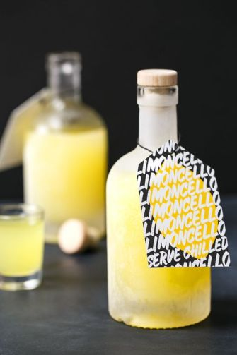 Limoncello, un cocktail de vodka au citron