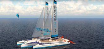 The Sea Cleaners : Yvan Bourgnon veut construire un quadramaran pour nettoyer les océans
