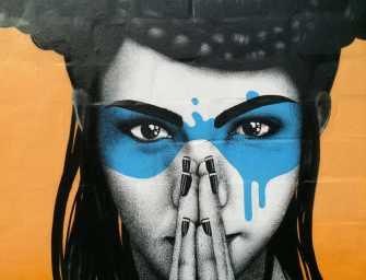 Street Art, les magnifiques portraits de Fin Dac