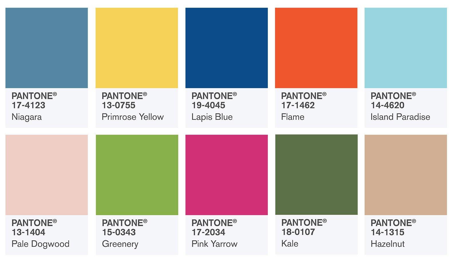 Couleur Pantone De L Année 2017 top 10 des couleurs tendances en 2017 - moving tahiti