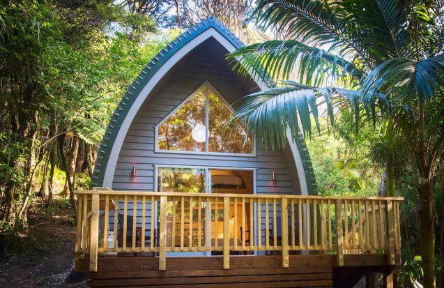 Petit chalet privé sur l'île de Waiheke, en Nouvelle-Zélande 08