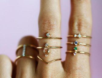 Tendance aux bijoux extras fins