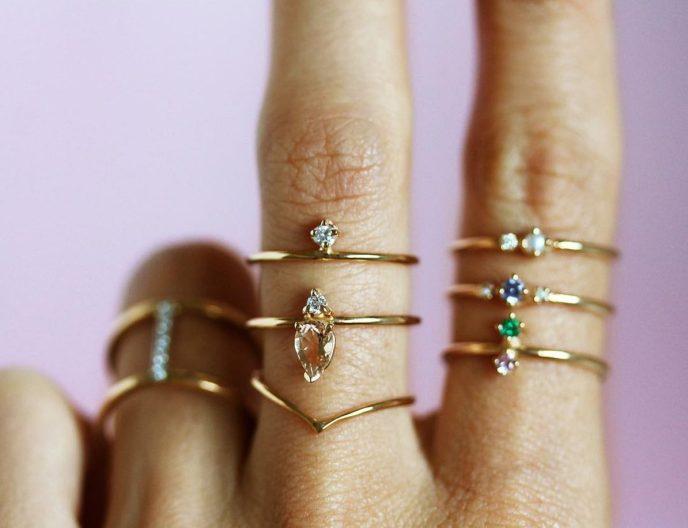 Tendance aux bijoux extras fins 08