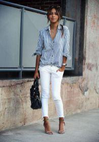 Comment bien porter le jean blanc 02