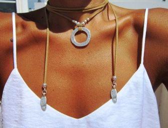 Les colliers en cuir pour être paré en toute originalité