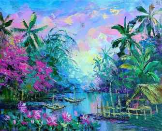 Les magnifiques peintures à l'huile de Natalya Shiryaeva
