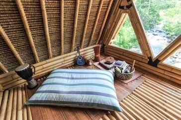 eco bamboo hom eselat bali airbnb