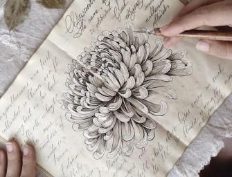 L'artiste russe Elena Limkina dévoile son mystérieux sketchbook