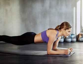 Retrouvez un joli ventre plat grâce à 5 minutes de sport par jour