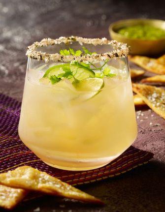 Cocktail azteca à la mangue et au citron vert