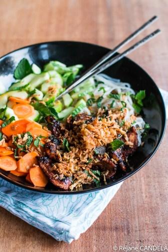 Un Bo Bun allégé, frais et aromatique