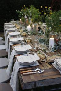 Une table raffinée au décor rustique chic pour Noël 03