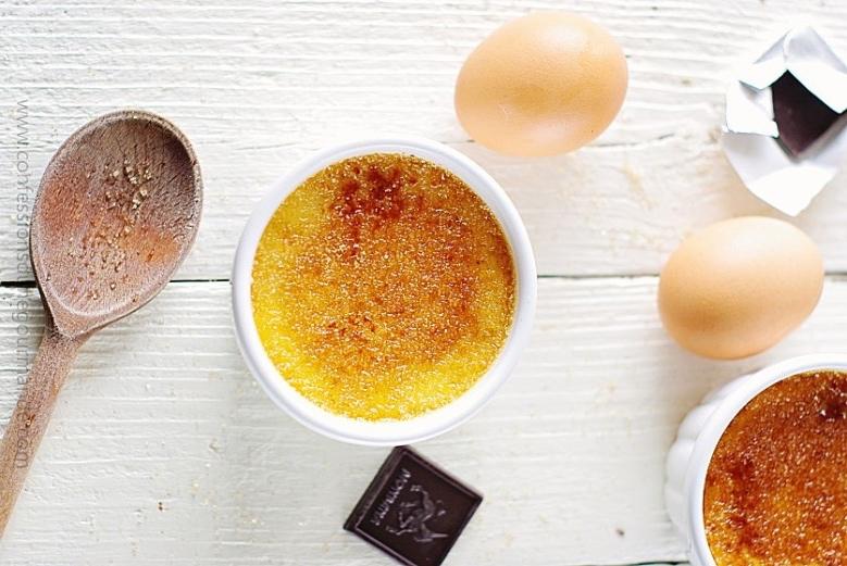 L'incontournable crème brûlée