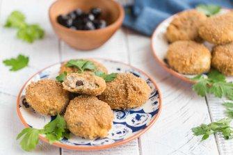 Les croquettes de thon aux olives