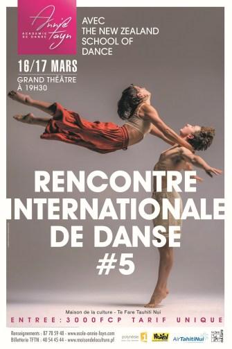 La 5e Rencontre Internationale de Danse à la Maison de la Culture le 16 et 17 Mars