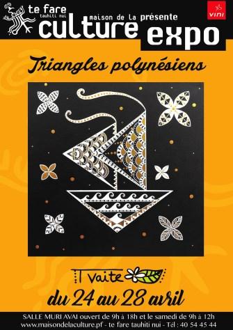 «Triangles Polynésiens», les toutes nouvelles oeuvres de Tvaite