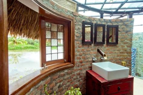chalet écologique bambou rizières Ubud 10