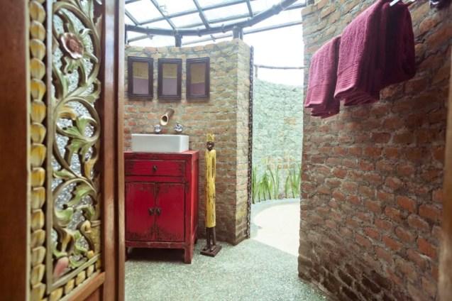 chalet écologique bambou rizières Ubud 11