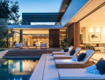 Amalfi Drive : une superbe résidence sur Pacific Palisades à Los Angeles
