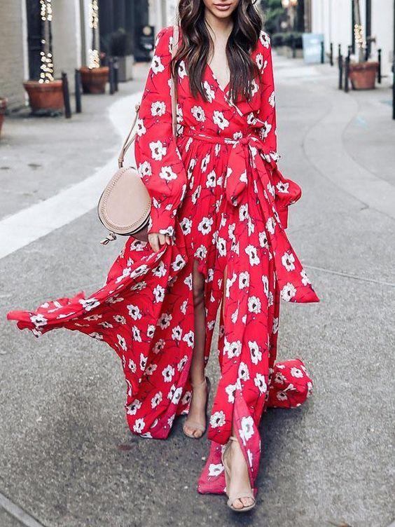 Belle en robe longue 01