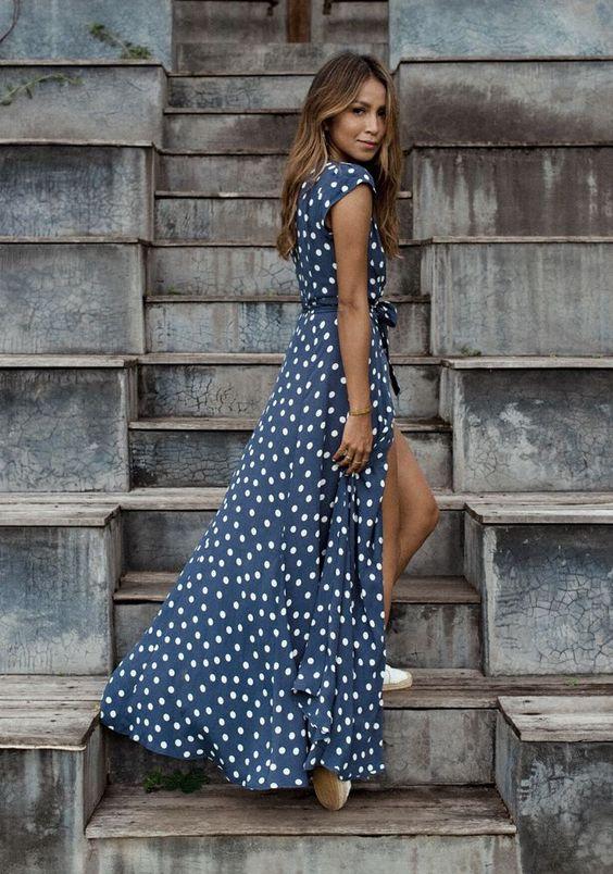 Belle en robe longue 15