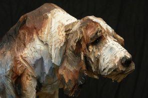 Les sculptures à la tronçonneuse de l'artiste Jürgen Lingl-Rebetez 04
