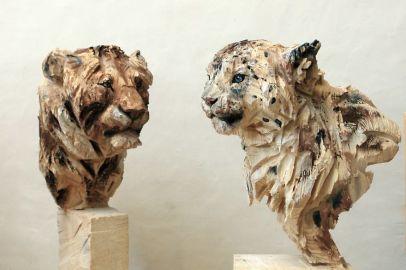 Les sculptures à la tronçonneuse de l'artiste Jürgen Lingl-Rebetez 11