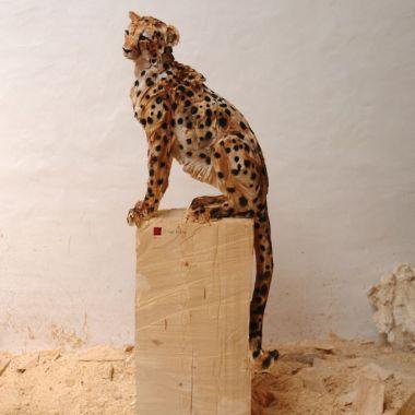 Les sculptures à la tronçonneuse de l'artiste Jürgen Lingl-Rebetez 19