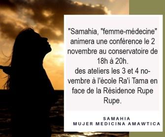 Samahia, «femme-médecine» colombienne propose des rencontres sur le féminin sacré à Tahiti