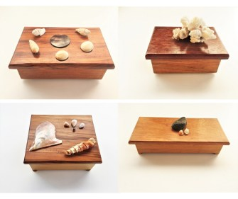 Les coffrets à bijoux en bois précieux réalisés par Manoarii, un tout jeune artisan polynésien